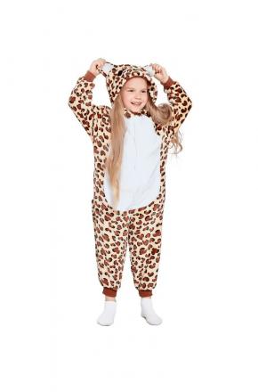 Кигуруми детский Леопард