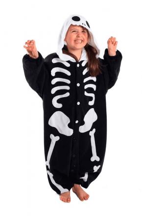 Кигуруми детский Скелетон