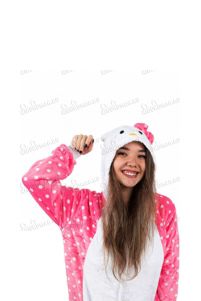 Кигуруми Hello Kitty в горошек - 7