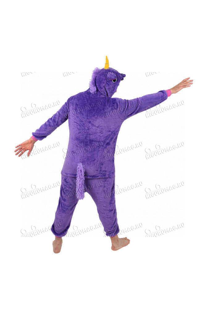 Кигуруми Единорог Фиолетовый - 11