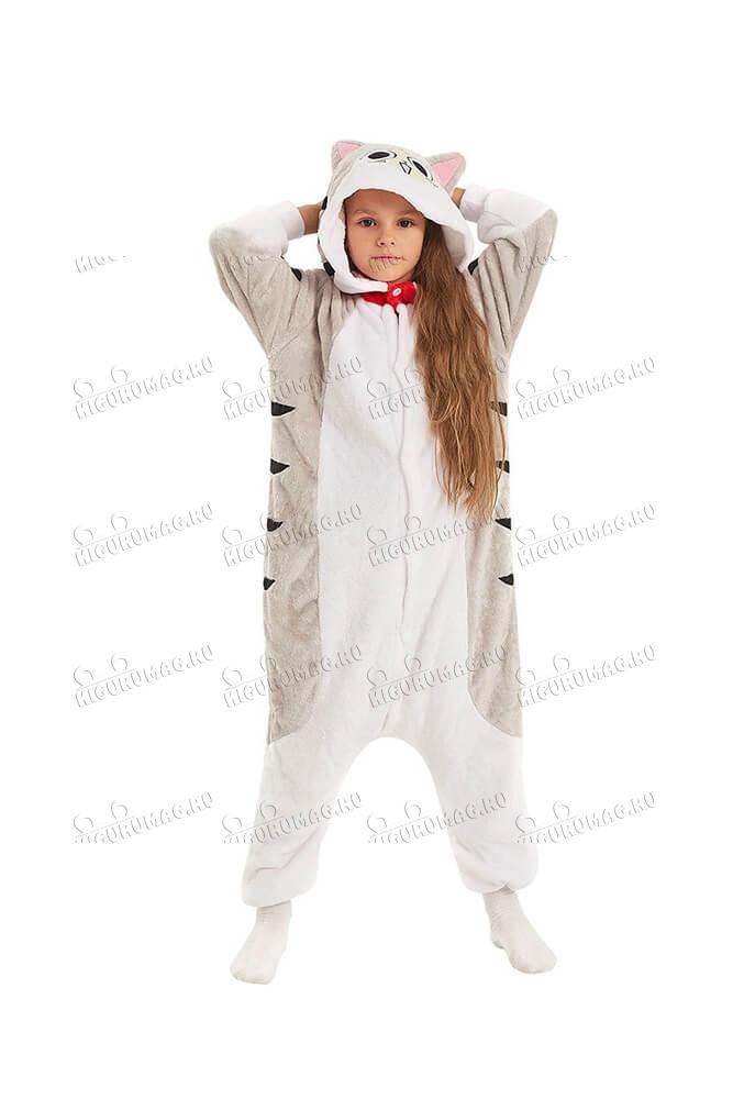 Кигуруми детский Котёнок Чи
