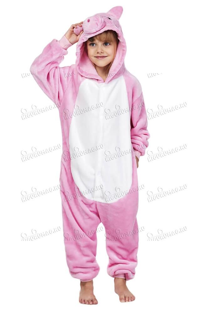 Кигуруми детский Свинка - 2