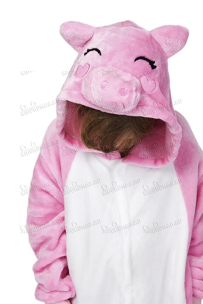 Кигуруми детский Свинка - 8