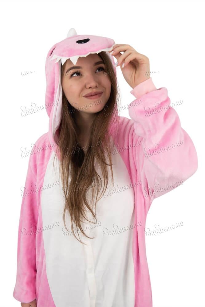 Кигуруми Динозаврик розовый - 6