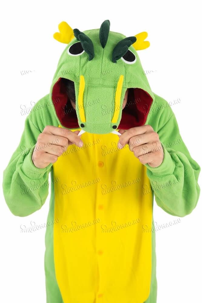Кигуруми Дракон зеленый - 13