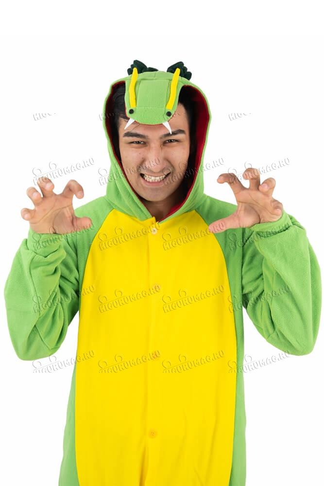 Кигуруми Дракон зеленый - 12