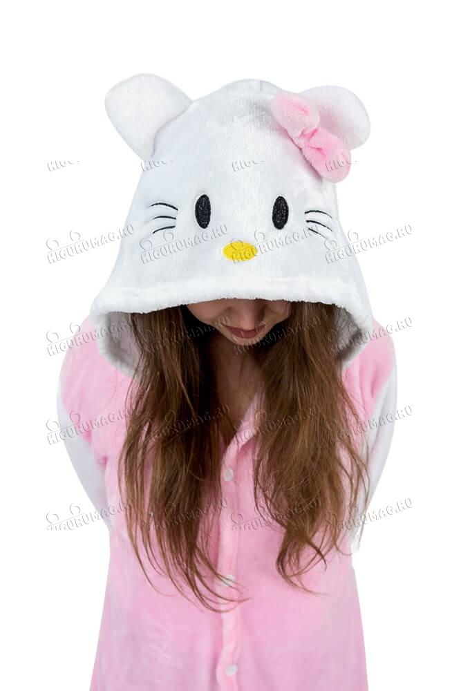 Кигуруми Hello Kitty розовый - 8