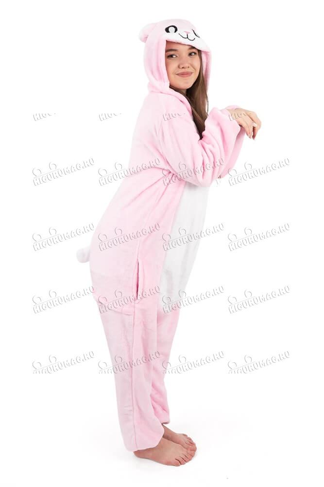 Кигуруми Розовый Кролик - 3