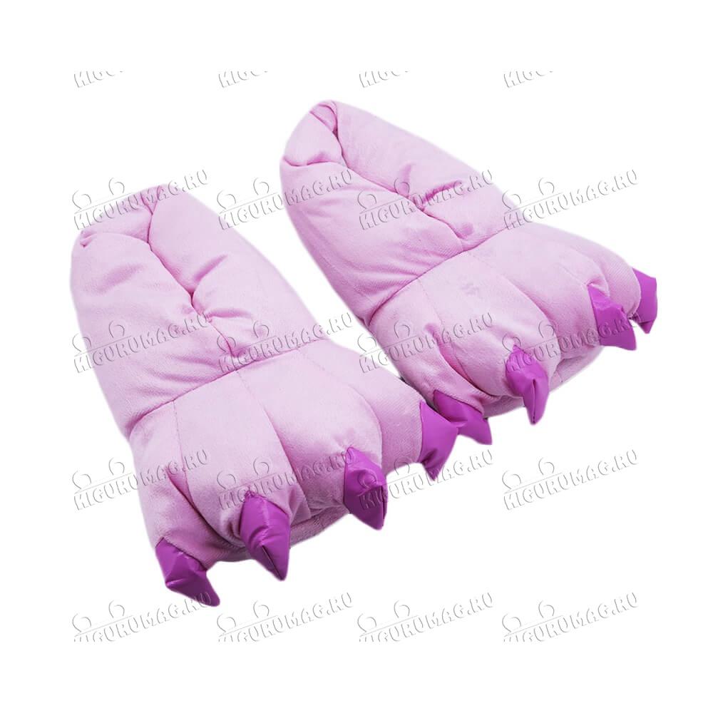 Тапки Лапки розовые M, 35-40 размер - 4