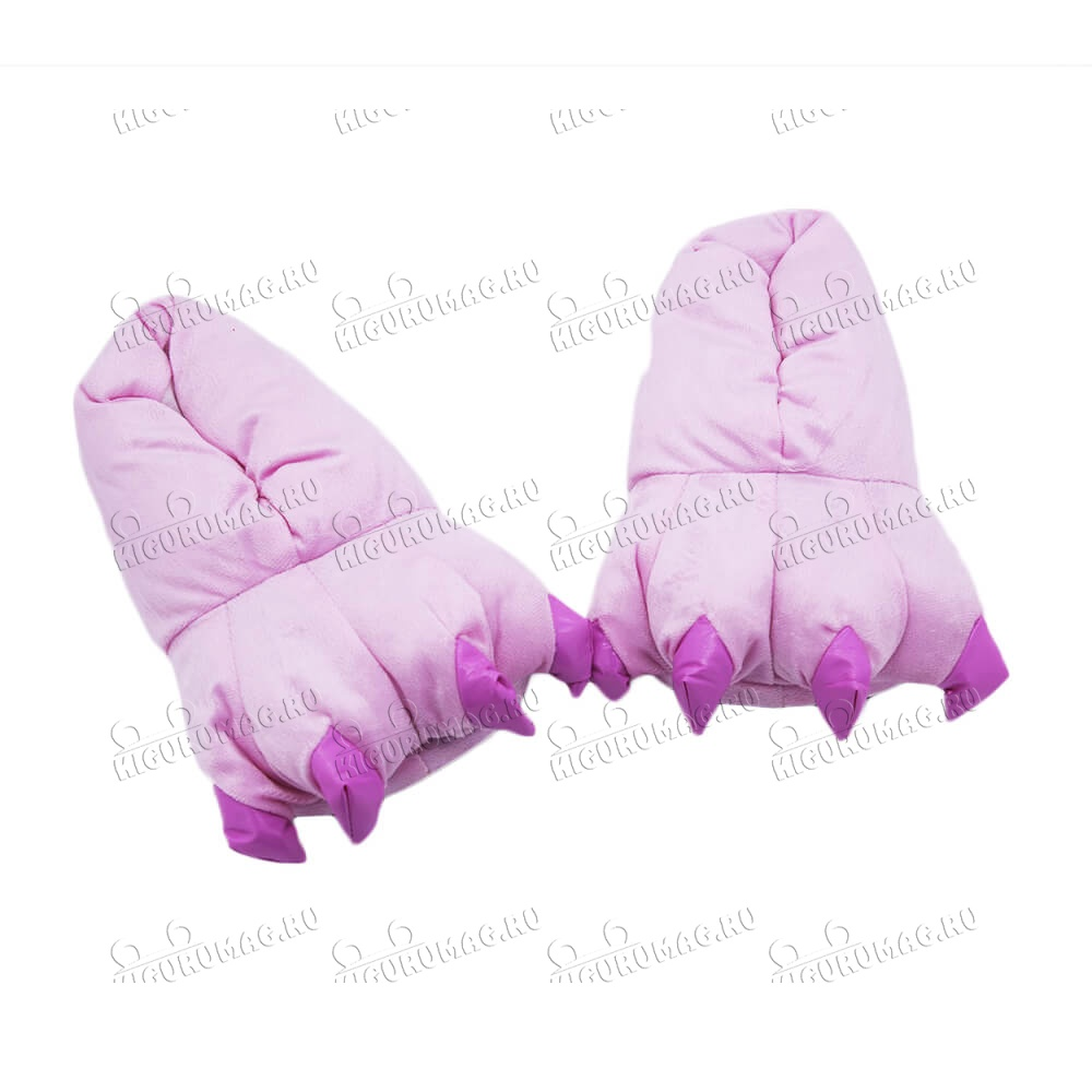 Тапки Лапки розовые M, 35-40 размер - 5