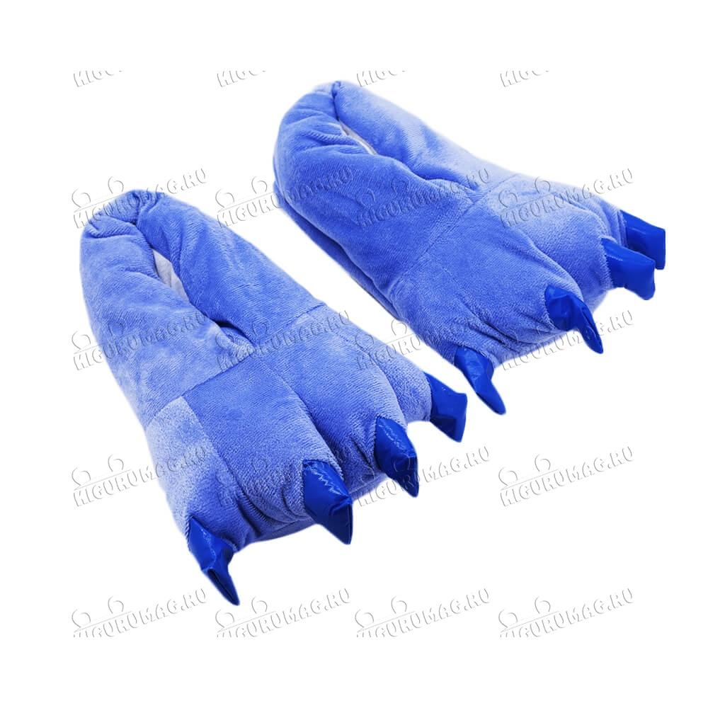 Тапки Лапки синие M, 35-40 размер - 4