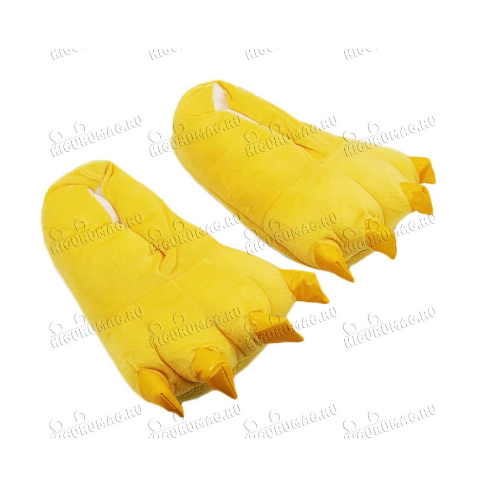 Тапки Лапки желтые M, 35-40 размер - 4